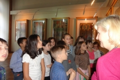 Відвідання Національного музею імені Андрея Шептицького учнями 6Б класу