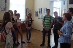Відвідання Національного музею імені Андрея Шептицького учнями 9А класу