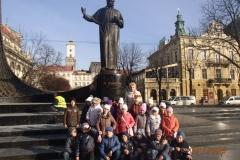 Екскурсія учнів 2В класу центром Львова